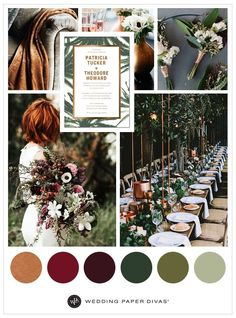 Take inspiration from Mother Nature and incorporate lush greenery, moody florals and copper tones in your wedding theme. - Take inspiration from Mother Nature and incorporate lush greenery, moody florals. Perfect Wedding, Our Wedding, Dream Wedding, 2017 Wedding, Wedding Ideas, Wedding Verses, Summer Wedding, Elegant Wedding, Rustic Wedding