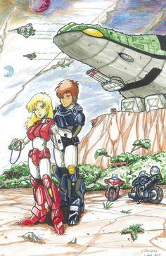 Karen Penn & Jack Baker - Robotech II The Sentinels - Art by Greg Lane