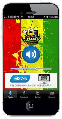 New iphone radio application online! Busy Radio USA
