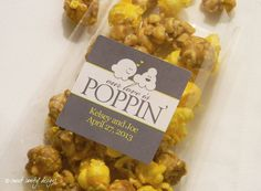 """popcorn bar wedding favors 