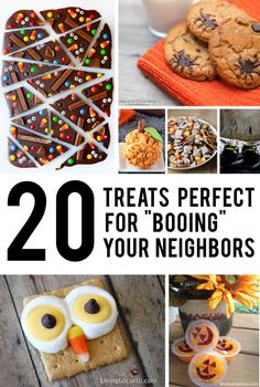 """The perfect, easily packaged treats for """"Booing"""" your neighbors - #4 is amazingly good."""