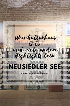 Bei einem #Urlaub im #Burgenland darf ein Achterl #Wein nicht fehlen. Eine #Weinverkostung im #Weinkulturhaus #Gols kann ich sehr empfehlen. Diesen und andere #Reisetipps zu einem Aufenthalt am #NeusiedlerSee gibt es in diesem Beitrag zu lesen.