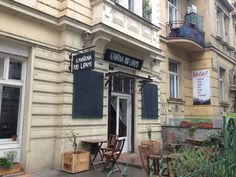 A quaint little coffee shop in Prague (Kavarna Pod Lipami)