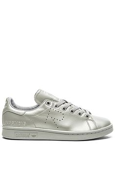 Shop for adidas by Raf Simons Stan Smith Sneaker in Silver at REVOLVE. Free  2 7d5253d1bf