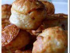 Mini-crêpes soufflées aux lardons pour l'apéritif, vite fait, bien fait!