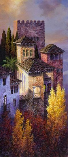 luis romero, luis romero resimleri, luis romero tabloları, luis romero kimdir, luis romero eserleri Oil Painting Pictures, Pictures To Paint, Art Pictures, Naive Art, Spanish Artists, Beaux Arts, Traditional Art, Landscape Art, Art Images