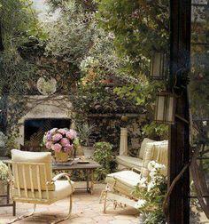 Provence Mon Amour - dans un jardin