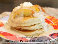 Made It. Ate It. Loved It.: Buttermilk Pancakes with Buttermilk Syrup