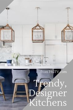 We've rounded up the most beautiful kitchens seen in the HGTV Designer of the Year Awards. From contemporary to rustic, these gorgeous kitchens are sure to please any style.