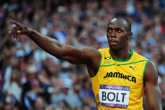 Usain Bolt of Jamaica reacts after competing in the Men's 200m Semifinals on Day 12 of the London 2012 Olympic Games at Olympic Stadium on August 8, 2012 in London, England