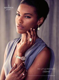 Sharam Diniz pour Meissen Bridal Jewelry <3
