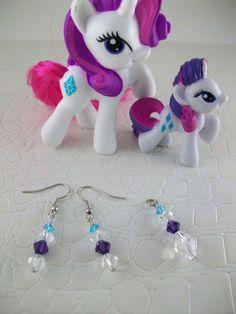 Rarity Cosplay Jewelry Set My Little Pony Friendship is Magic   SGalindoDesign - Jewelry on ArtFire