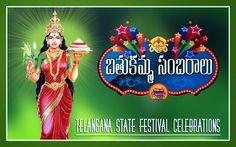 Bathukamma Panduga: (in Telugu Language Paduga means festival) is flower –patterned festival celebrated by the Hindu women of Telangana. 'Bathukamma festival begins on 'Badhrapada Amavasya' and ends on 'Durgashtami.