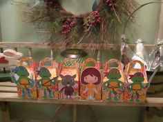 TMNT Inspired Gable Boxes Set of 12 by zbrown5 on Etsy