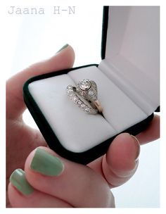 It's our 10 year anniversary! 10 Year Anniversary, Heart Ring, Diamond, Rings, Accessories, Vintage, Jewelry, Style, Swag