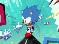 Sonic Mania update fixes the Switch home button: Nintendo Switch players have been putting up with a pesky issue in Sonic Mania not found… Video Game News, Video Games, Sonic Mania, Sonic Art, Nintendo Switch, Sonic The Hedgehog, Cool Pictures, Character Design, Buttons