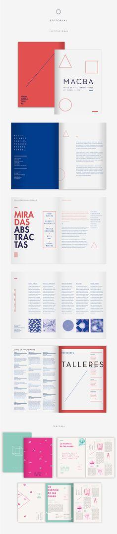 Diseño de la identidad del Museo de Arte Contemporáneo de Buenos Aires para la materia Diseño Gráfico 2 de la Facultad de Arquitectura, Diseño y Urbanismo (FADU). Cátedra Gabriele.