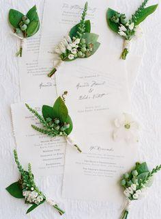 dads etc boutonnieres Green Wedding, Spring Wedding, Floral Wedding, Wedding Bouquets, Our Wedding, Boutonnieres, Green Boutonniere, Wedding Boutonniere, Wedding Stationary