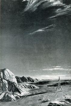 Landing on Mars by Kurt Röschl