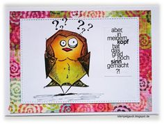 ' Stempelgaudi ': - BIRD CRAZY - Tim Holtz