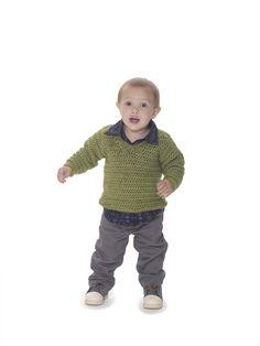 Next Generation V-Neck Pullover (Crochet)