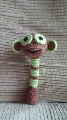 "Häkeln-Crochet ""Affenrassel"""