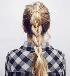 Here is a little hair tutorial I made for you guys! I lovethishairstyle &it looks impossible but it'sactually super simple! xoxo Top – Windsor Store FINISHED LOOK PULL THROUGHT BRAID …