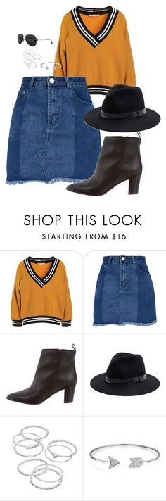 """""""Untitled #53"""" by valery-5 ❤ liked on Polyvore featuring Acne Studios, Sole Society, LC Lauren Conrad, Bling Jewelry and Ray-Ban"""