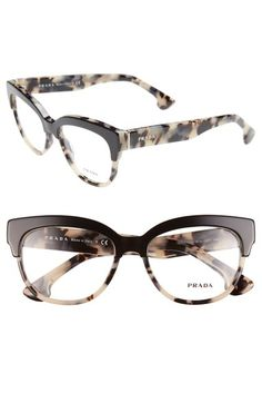 283fee24c3 Main Image - Prada 53mm Optical Glasses (Online Only) Moda Fashion