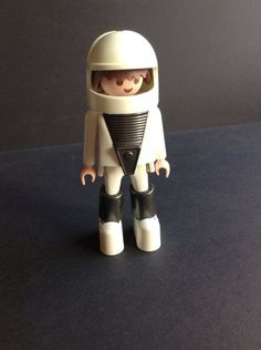 1974 Playmobil Geobra Astronaut white space by GirlyStuffByDeJaVu, $14.00