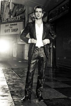 Colin Farrell by Michael Muller