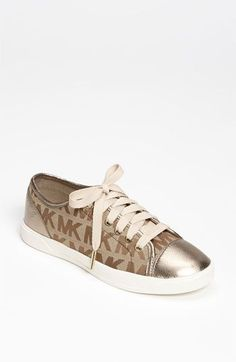 MICHAEL Michael Kors 'City' Sneaker available at #Nordstrom.love love love omg I'm simply in love.!!