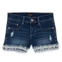 Jordache Girls Destructed Short