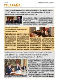"""Actualidad Jurídica Aranzadi (AJA) cubre en un artículo el evento """"Internet Law"""", celebrado en el Ilustre Colegio de Abogados de Barcelona (ICAB), en el que participé como ponente para hablar de la nueva Estrategia de Ciberseguridad Nacional."""