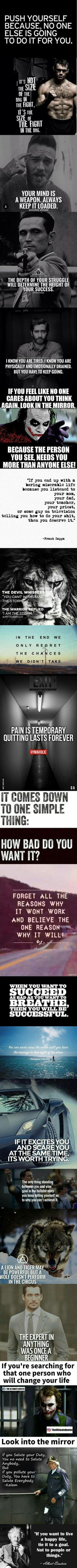 Feel like giving up?