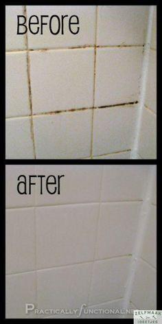 Last van vieze voegen in de badkamer? Zo los je dit makkelijk op! - Zelfmaak ideetjes