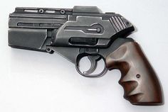 BattleStar Galactica  custom Smith & Wesson Model 686  from Battlestar Galactica  Razor
