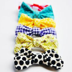 Have scraps of fabric? Turn them in to adorably hair bows for your little one with this easy DIY
