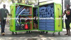 Imagination Playground at Brownsville, New York by Imagination Playground