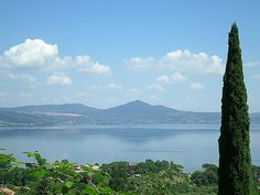 Lake Bracciano, Italy Went on holiday there this May. Beautiful.