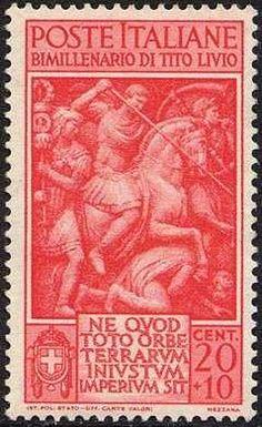 francobollo ltalia 1941 Tito Livio - Buscar con Google