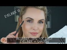I wanted to make a basic 101 class on easy eyeliner tips as well as eyeshadow. These are for beginners or people that just aren't comfortable with. Beauty Hacks Eyelashes, Fake Eyelashes, Skin Care Regimen, Skin Care Tips, Oil Free Makeup, Simple Eyeliner, Eyelash Serum, Eye Liner Tricks, Makeup Tips For Beginners