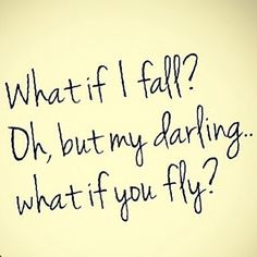 Get out there and don't be afraid to fly! #motivation #inspiration