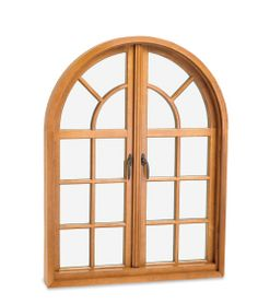Marvin Push Out French Casement Round Top closed