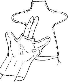 hand puppet pattern - Google 検索