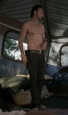 Andrew Lincoln from The Walking Dead. Yowza!