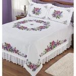 Bed Quilts - Embroidery/Stamped Cross Stitch Kits