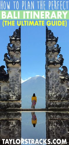Planning a Bali trip can be daunting as there are so many places to choose from. With this Bali travel guide you will be able to plan your dream Bali itinerary. It's packed with Bali travel tips, shares where to go in Bali, the best places for Bali instagram pics and more. Click to start planning! #bali #balinese #indonesia #travel #travelling #traveltips #travelblog