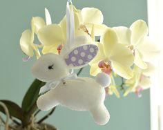 Nursery Bunny  Baby Gift  Felt Bunny   Felt RabbitChoose