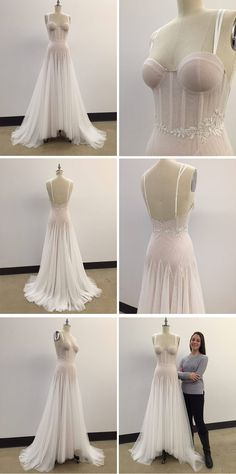 Fashion institute of technology students future bridal designers kelly tucker